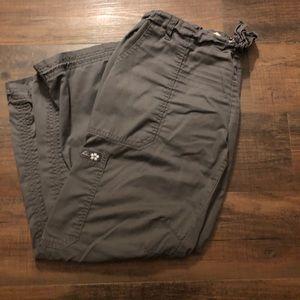 Two pairs of Koi EXTRA PETITE Lindsey scrub pants